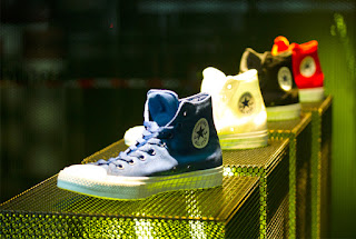 Green Pear Diaries, interiorismo, retail, Converse, Chuck Taylor All Star II, Pop Up Store, Melbourne, SML