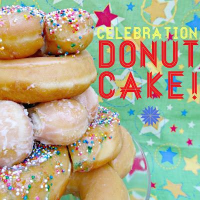 Stacked Doughnut Donut Cake