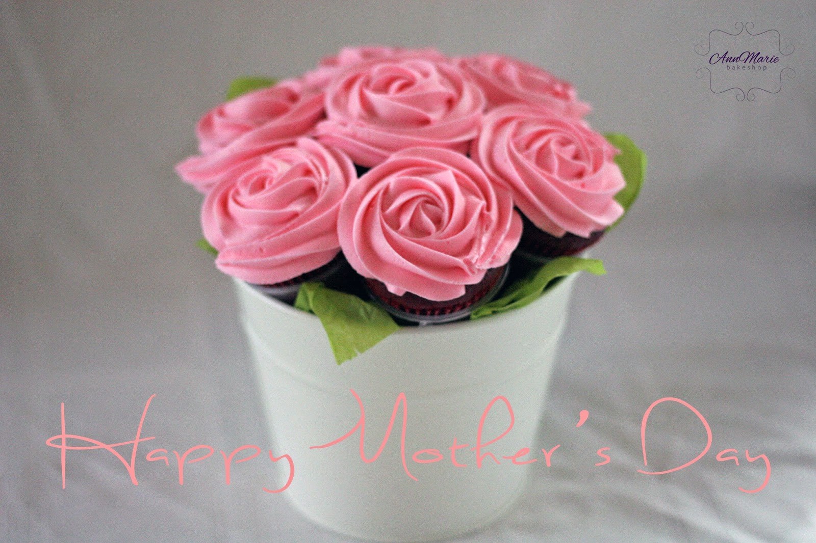 Annmarie Bakeshop Rose Cupcake Bouquets For A Cause