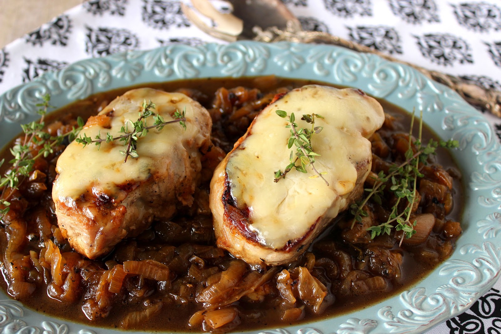 French Onion Pork Chop Recipe