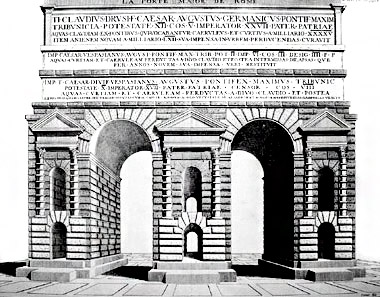 Porta praenestina labicana porte aureliane for Porta maggiore