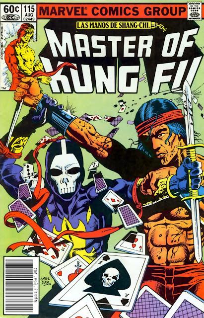 Portada de Master of Kung Fu Nº 115 traducido