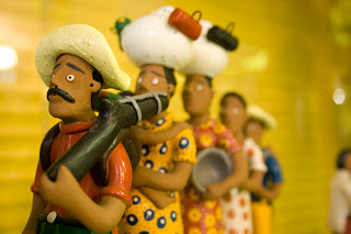bonecos feitos com massa de modelar
