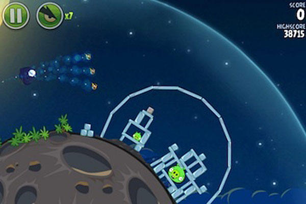 Angry Birds Space Level Help