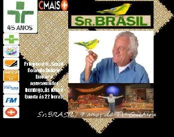 Programa Sr. Brasil - TV Cultura - SP