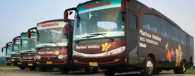 Foto bus pariwisata PO Marissa Holiday