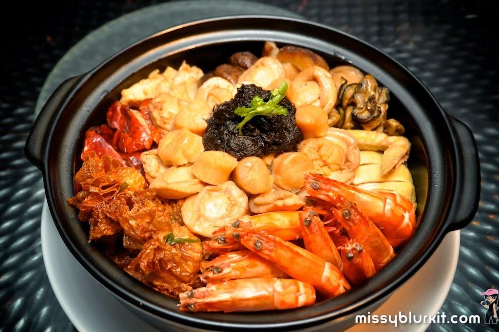 Foodie Trail, CNY, 5 Sen5es, The Westin Kuala Lumpur, Poon Choy, yee sang,