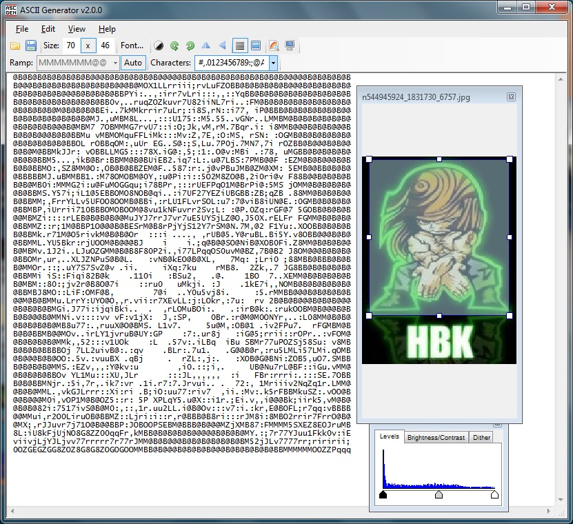 create ascii art online