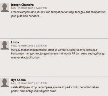 komentar pedas netizen