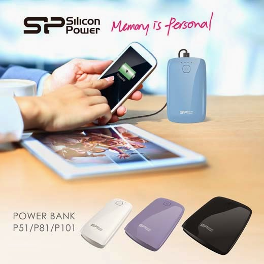 Silicon Power - Power Banks - Power P51, P81 and P101