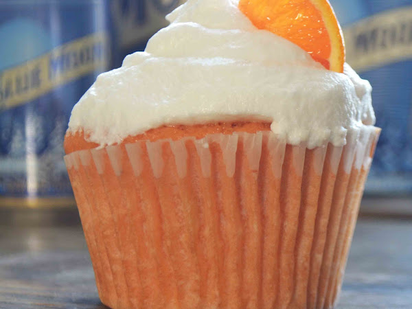 Blue Moon White Ale Cupcakes