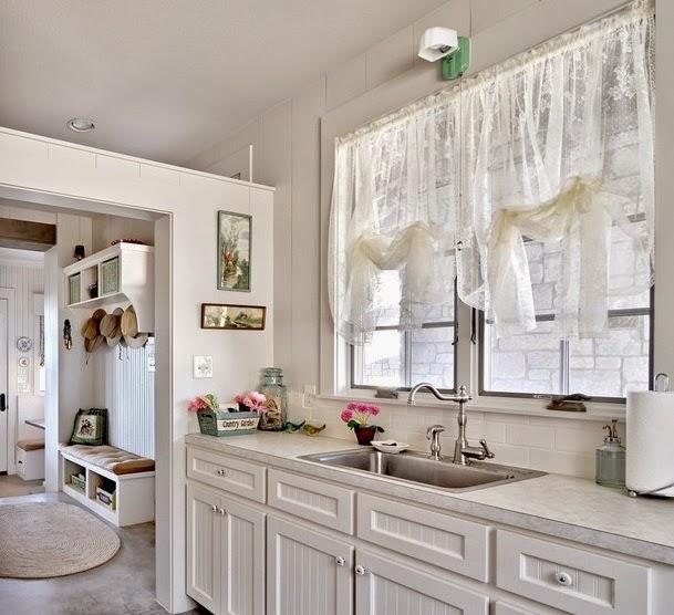 rideaux de cuisine rideaux et voilages. Black Bedroom Furniture Sets. Home Design Ideas