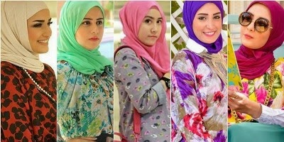 Tips Dalam Memadukan Baju Dan Hijab Yang Tabrak Motif