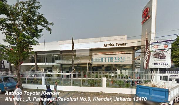 ASTRIDO TOYOTA Klender, Duren Sawit, JAKARTA Timur