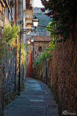 Narrow Street, Sorrento, Italy