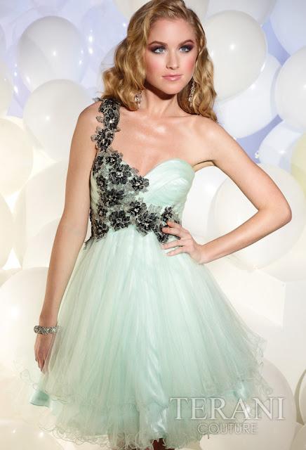 Vestidos cortos de fiesta terani 2012 23 - Gen� K�z Abiye Modelleri