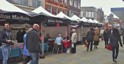 Bolton Love Your Local Market 