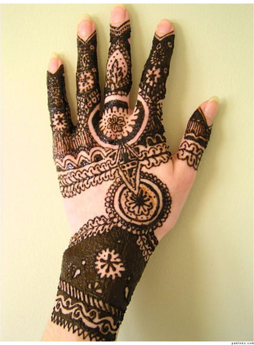 Mehndi Design New : Beautiful designs arabic mehndi for hands