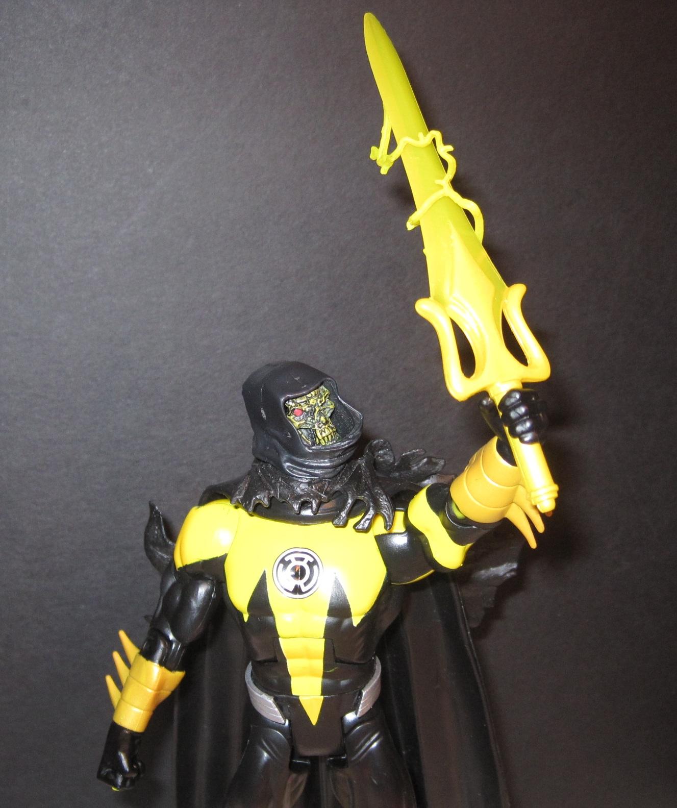 Toy Remix: Custom: Sinestro Corps. Skeletor