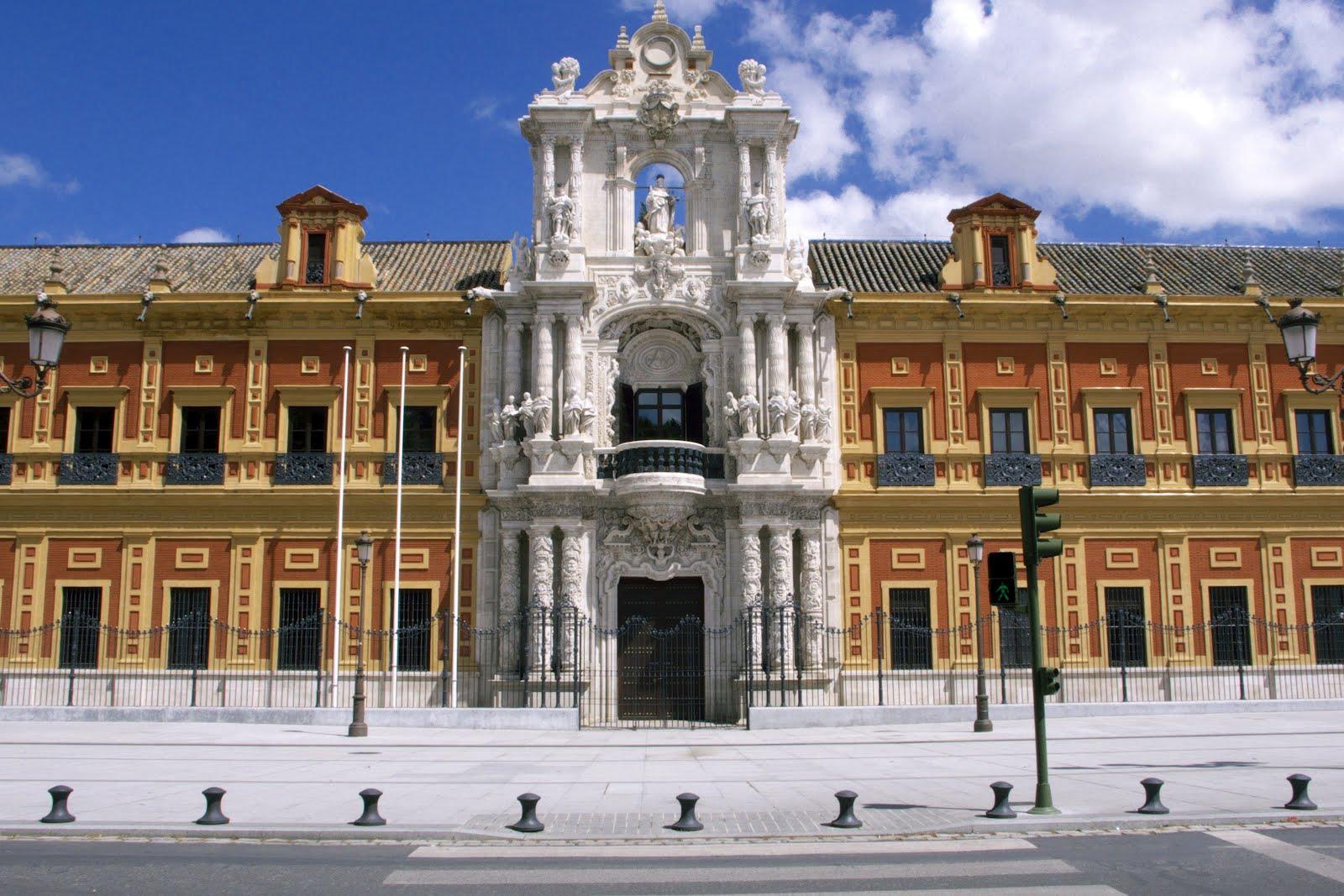 Edificios de sevilla palacio de san telmo for Arquitectura sevilla