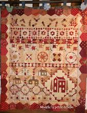 Square Dance in Red: dit o zo schattige quiltje gaan we maken met Judith Ebbelaar