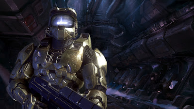Master Chief Ship Interiror Wallpaper