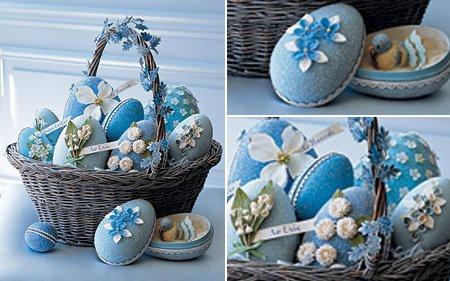 Mi dulce arte - Huevos decorados de pascua ...