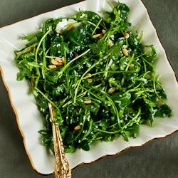 Kalyn's Kitchen®: Kalyn's Favorite Baby Arugula Salad with Lemon ...