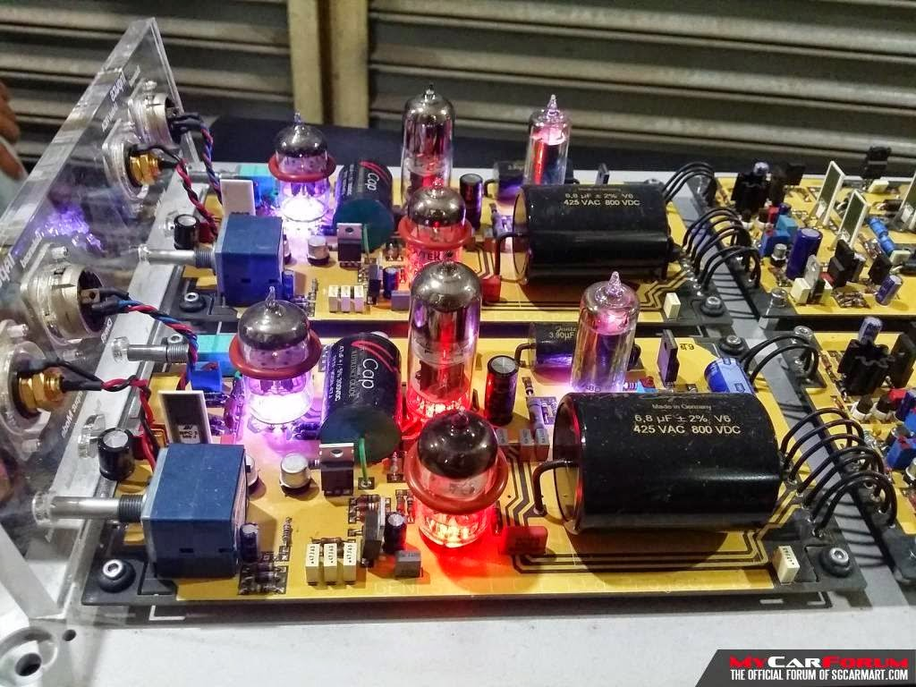 Finished Nap200 Dual Channel Amplifier Highend Stereo 854463 Np100v12 Diy 12au7 Ecc82 Tube Irf510 Mosfet Headphone Mono And Audio Magazine Genesis Ice