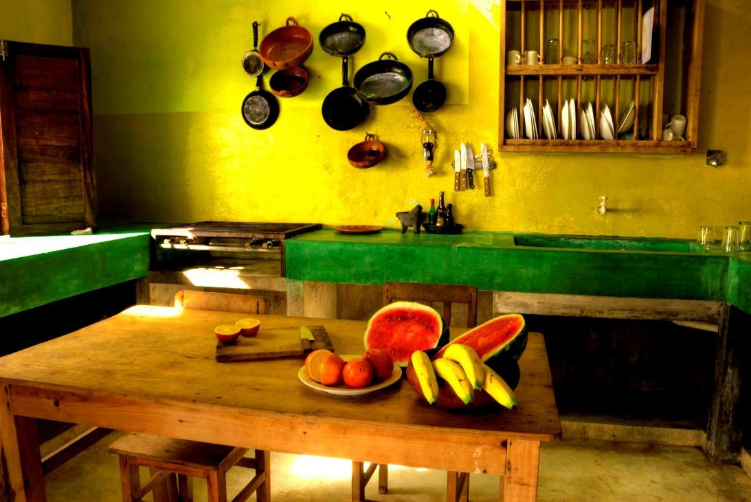 Decoraci n a tu alcance una cocina tradicional a color for Cocina tradicional