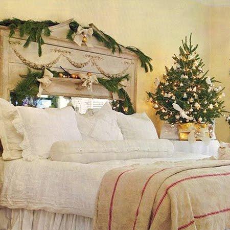 Коледна украса с малка елхичка