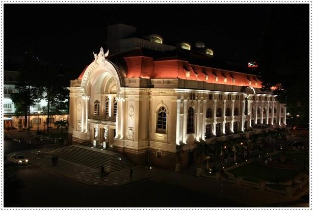 Opera House Ho Chi Minh - Nhà hát thành phố Hồ Chí Minh