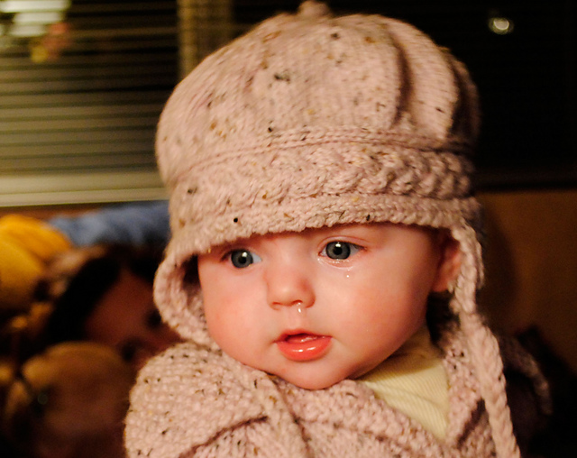 Knitted Infant Hat Patterns : Knitting Patterns Baby Hats Earflaps images