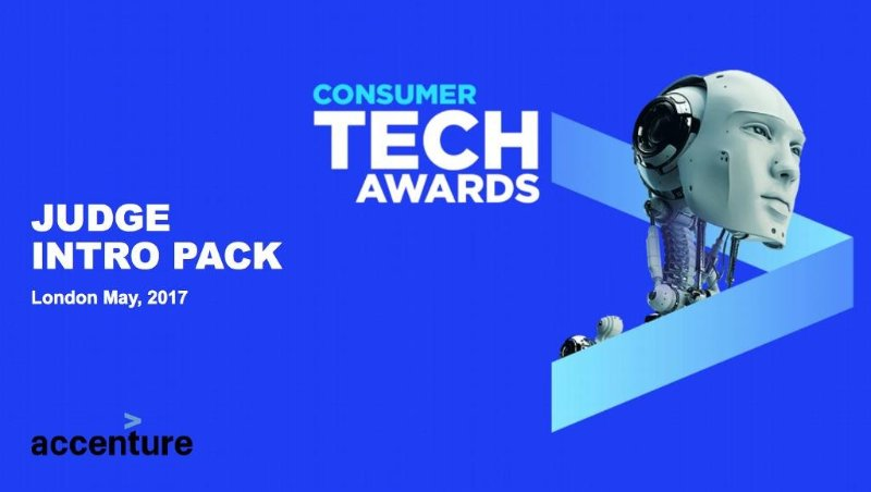 Judge of 2017 Accenture ConsumerTech Awards