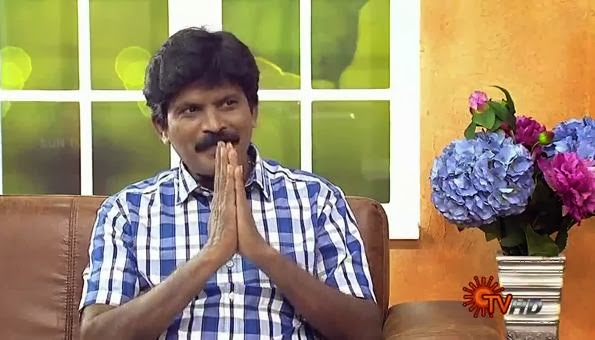 Virundhinar Pakkam – Sun TV Show 25-11-2013 Lyricist Annamalai