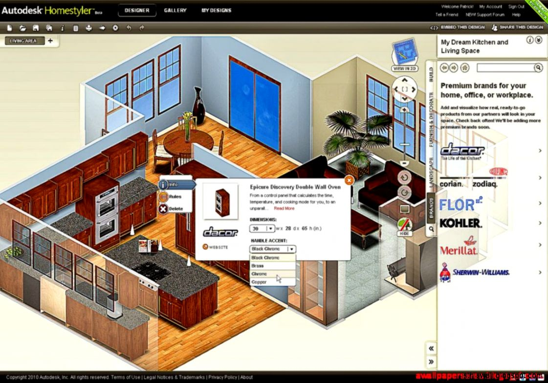 Home design software download free trial home designer Kitchen design software free download full version