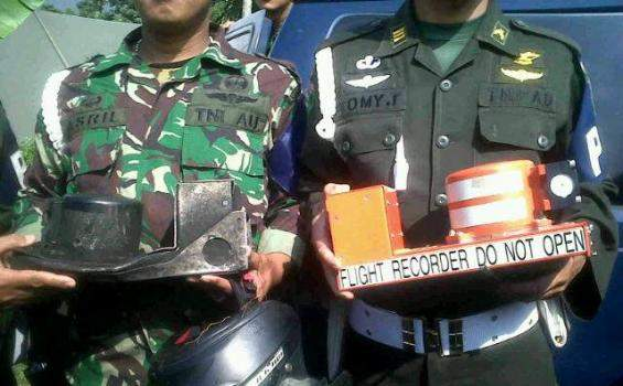 Kotak hitam / black box sukhoi