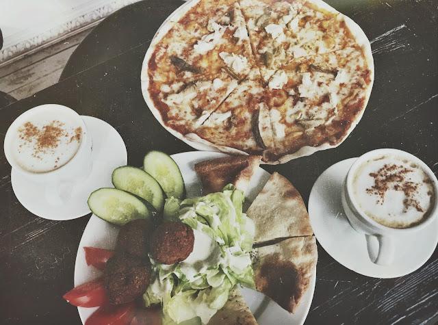 Пицца, фалафель, диета, вкусно