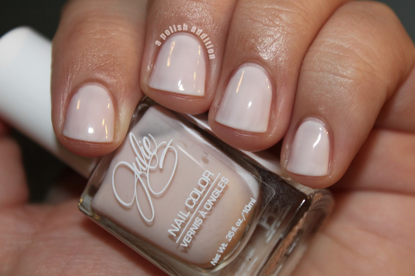 A Polish Addiction: Swooping French Manicure Featuring JulieG Nail ...