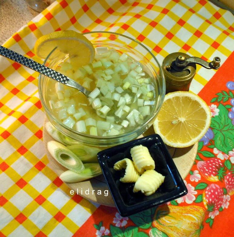 Френска супа с праз и картофи