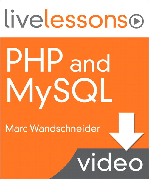 php and mysql live lessons