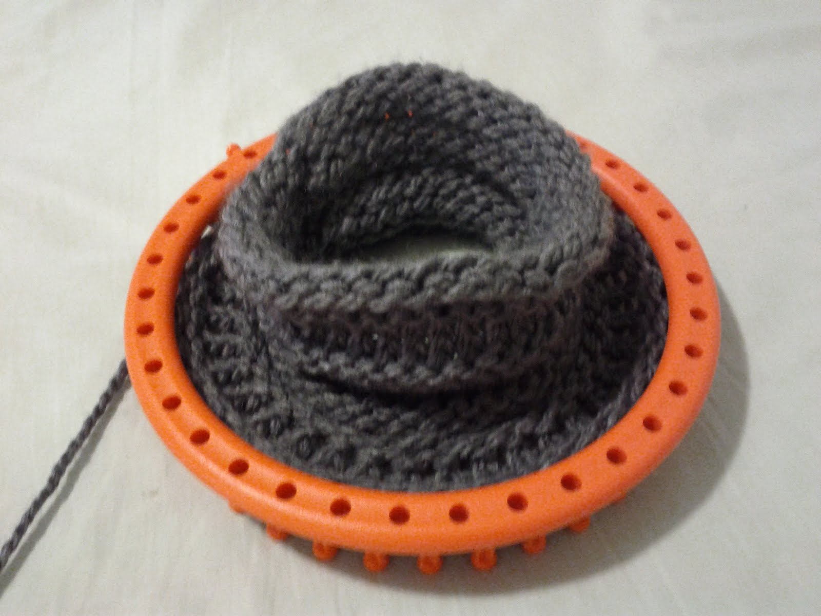 Loom Hat Finished | Crochetapy