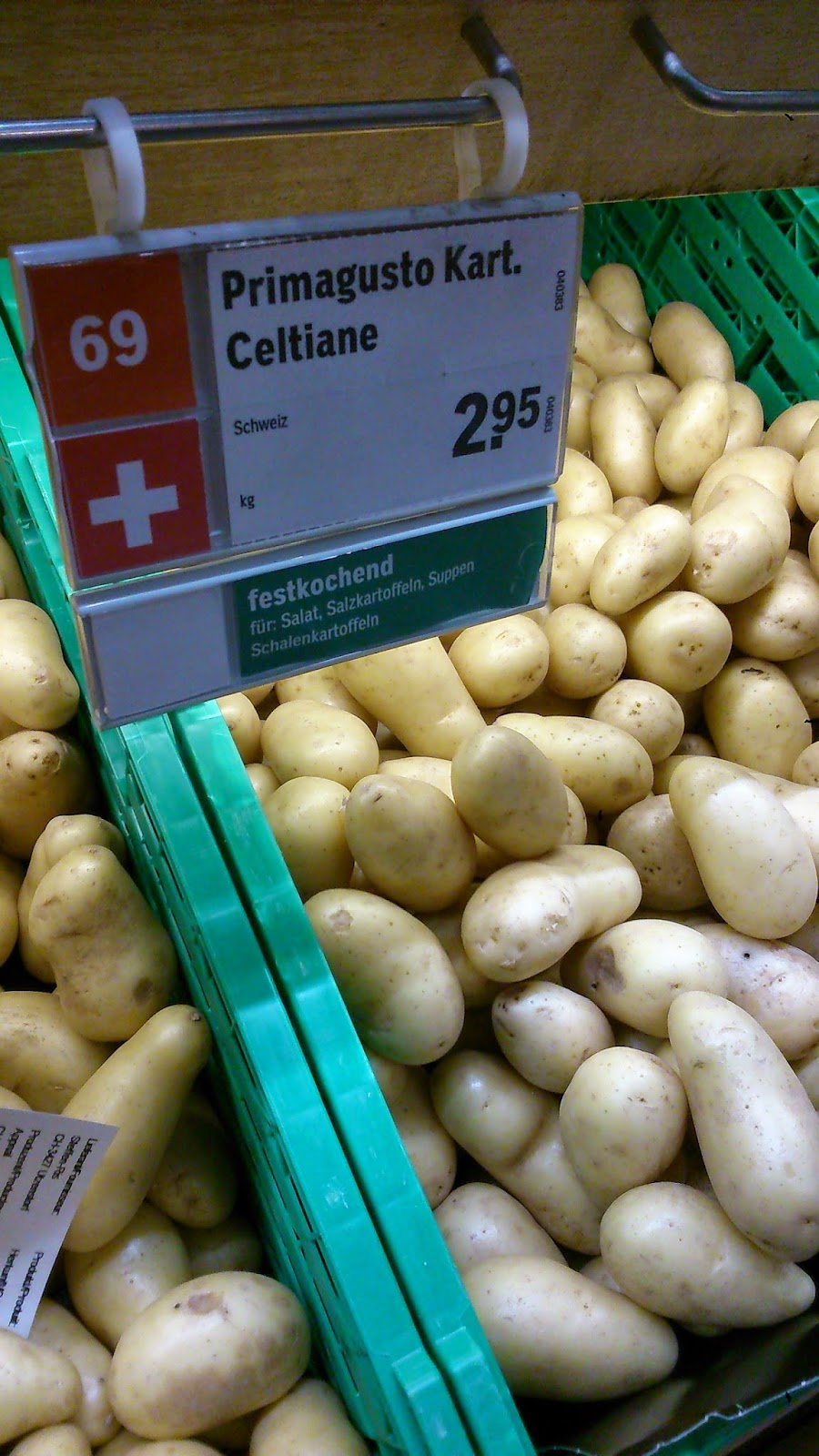 1 kg potatis hur många
