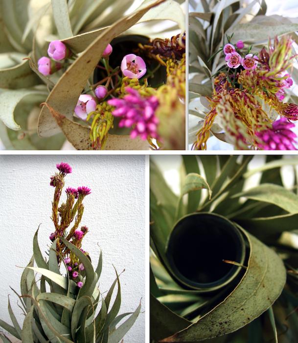 Eco wedding design matrimonio eco vegan foglie - Rami decorativi per vasi ...