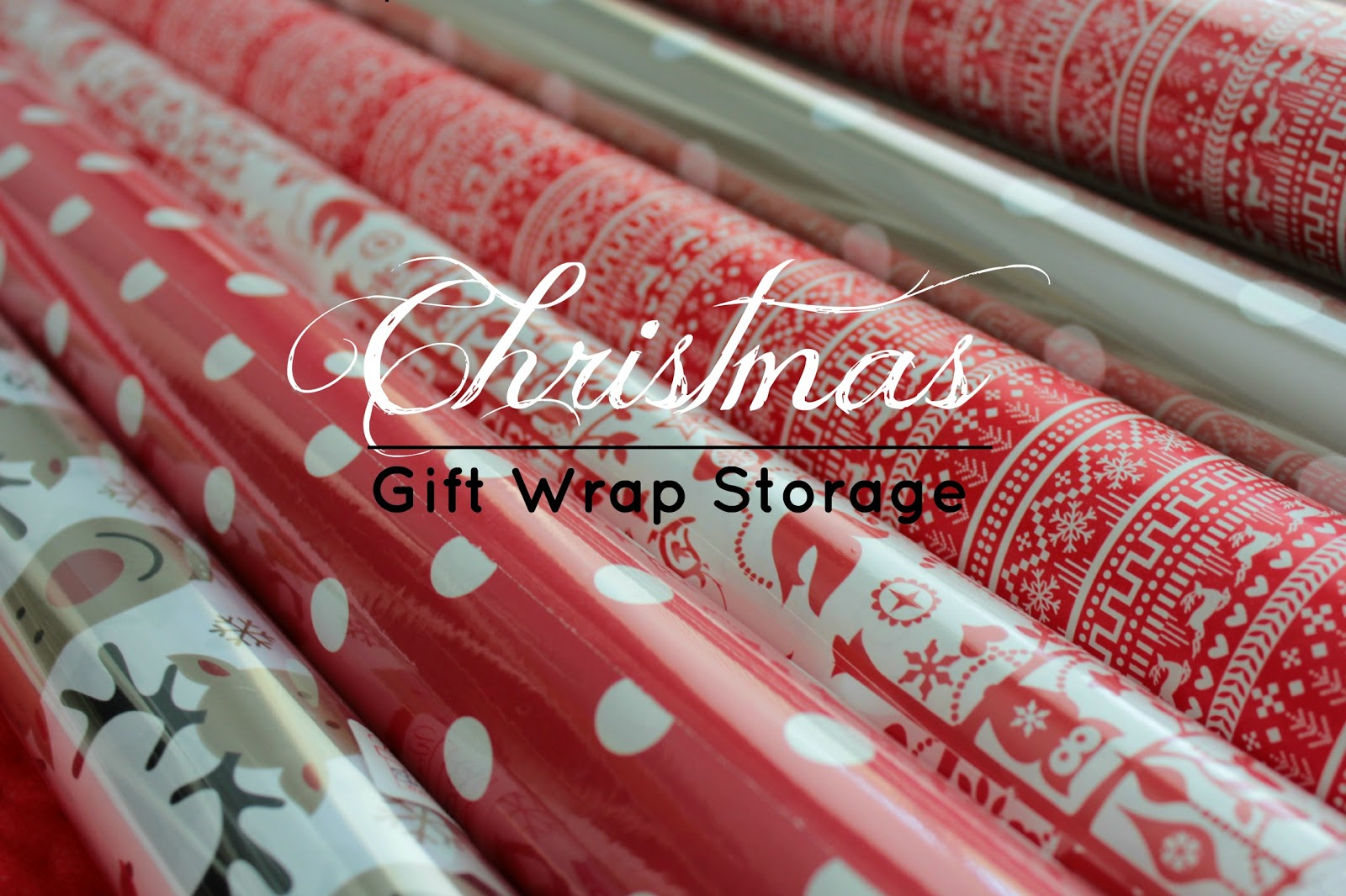 Christmas Gift Wrap Storage Solutions For A Gift Wrapping Junkiee