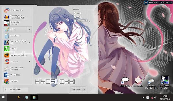 Ikki Hiyori (Noragami) (theme win 8) 2