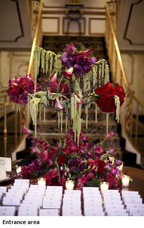 Orthodox Jewish Wedding Flowers And Chuppah S And Mechitza S Oh