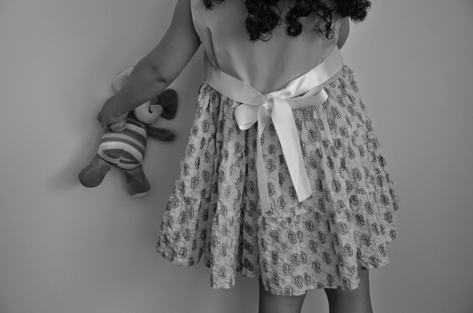 Handmade dress for a preschooler
