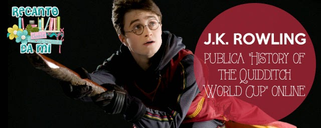 JK Rowling publica History of the Quidditch World Cup online