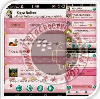 BBM Mod Simple Cute New Versi 2.8.0.21 Apk